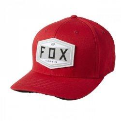 CZAPKA Z DASZKIEM FOX EMBLEM FLEXFIT CHILI L/XL