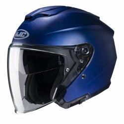 KASK HJC I30 SEMI FLAT METALLIC BLUE XL