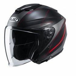 KASK HJC I30 SLIGHT BLACK/RED M