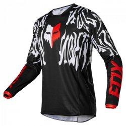 BLUZA FOX 180 PERIL BLACK/RED S