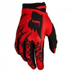 RĘKAWICE FOX 180 PERIL FLUORESCENT RED XL