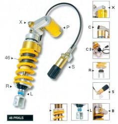 Amortyzator Ohlins Triumph T509 Speed Triple (97-99)