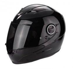 SCORPION KASK MOTOCYKLOWY EXO-490 kask motocyklowy czarny połysk
