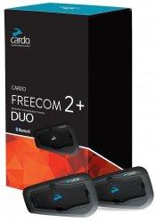CARDO FREECOM 2+ DUO Interkom podwójny (zestaw na 2 kaski)