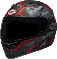 BELL QUALIFIER KASK MOTOCYKLOWY TORQUE BLACK/RED