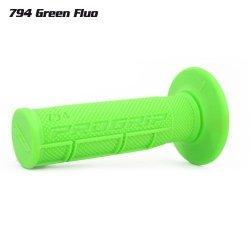 Progrip 794 Off road jednoskładnikowe manetki zielone FLUO