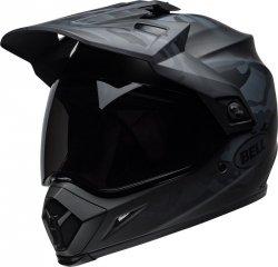BELL MX-9 KASK MOTOCYKLOWY ADVENTURE MIPS STEALTH BLACK MATT CAMO