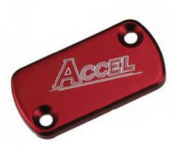 Accel przednia pokrywa pompy hamulcowej - Honda CR 125/250 (84-07) - czerwony