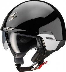 Scorpion EXO-100 Padova 2 kask motocyklowy czarny połysk
