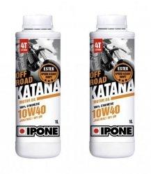Ipone Katana Off Road 10W40 2L - olej silnikowy syntetyk