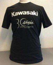 T-shirt 30-lat Kawasaki Ninja