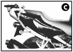 KAPPA K2520 stelaż kufra centralnego Honda CBR 600F (99-08)