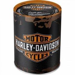 Skarbonka - Puszka Harley-Davidson Genuine Logo