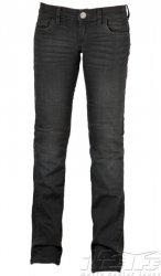 Mottowear Kira X Grey jeansy spodnie motocyklowe damskie - szare