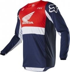 BLUZA FOX 180 HONDA NAVY/RED