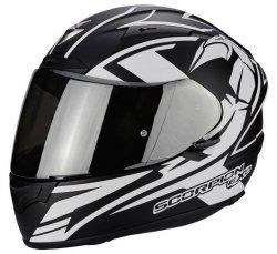 Scorpion Exo-2000 EVO AIR TRACK kask motocyklowy czarny-biały