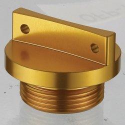 Accel korek wlewu oleju do Suzuki RMZ 250 (04-06) - złoty (GWINT M18X1,5)