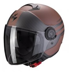 Scorpion kask motocyklowy  EXO-CITY MODA BROWN MATT BLACK