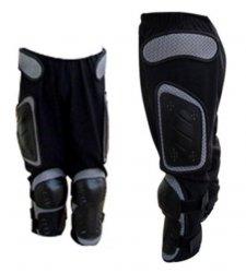 CS spodnie siatkowe z ochraniaczami Junior