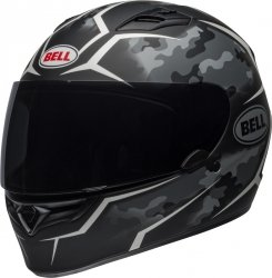 BELL QUALIFIER KASK MOTOCYKLOWY TORQUE BLACK/WHITE