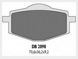Delta Braking YAMAHA125 DT R (88-03) klocki hamulcowe tył