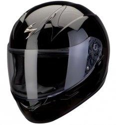 Scorpion Exo-410 Air kask motocyklowy czarny połysk