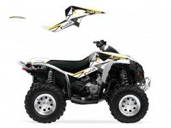 Blackbird Dream 2 Can-Am Renegade 500 (07-15) okleina naklejki quad atv