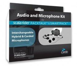 Zestaw słuchawkowy Audio Kit Głośniki + Mikrofony do interkomu FREECOM Scala Rider Cardo