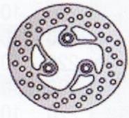 Tarcza hamulcowa przednia MZ Moskito FB 50 (97-03)