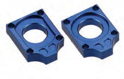 Accel napinacz tylnej ośki - Yamaha FZ1 (06-10) - niebieski