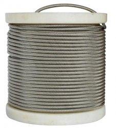 Fren Tubo przewód hamulcowy w stalowym oplocie (bez koszulki) 1m