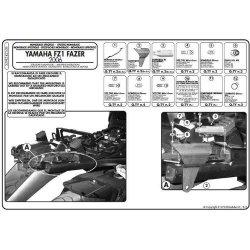 KAPPA KZ359 stelaż kufra centralnego Yamaha FZ1 1000 Fazer (06-15)