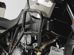 CRASHBAR/GMOL KTM 1190 ADVENTURE / R (13-) BLACK SW-MOTECH