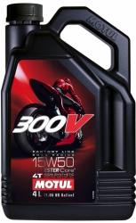 MOTUL 300V 4T FACTORY LINE 15W50 olej syntetyczny do silników 4-suwowych 4L