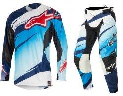 Alpinestars Techstar Venom spodnie motocyklowe 34 + bluza motocyklowa L - Komplet odzieży MX enduro Wyprzedaż Kolekcji!
