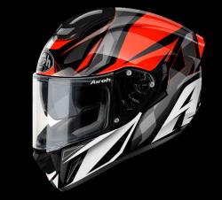 AIROH ST501 KASK MOTOCYKLOWY THUNDER RED GLOSS GRZMOT CZERWONY POŁYSK