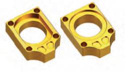 Accel napinacz tylnej ośki - Suzuki RMZ (04-12) - złoty