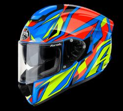 AIROH ST501 KASK MOTOCYKLOWY THUNDER BLUE GLOSS GRZMOT NIEBIESKI POŁYSK