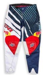 Kini Red Bull Vintage 2016 spodnie offroad czerwono-niebieskie