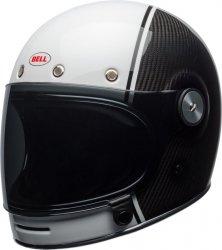 BELL BULLITT CARBON PIERCE BLACK/WHITE KASK MOTOCYKLOWY