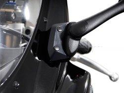 PRZEDŁUŻENIE LUSTERKA BLACK SUZUKI GSX-R 600 / 750 SW-MOTECH BLACK