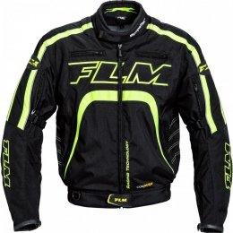 FLM Kurtka tekstylna sportowa T16 Evo z membraną SympaTex - czarno-żółta