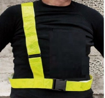Biketec Safe Belt pas odblaskowy