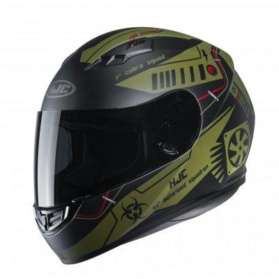 KASK HJC CS-15 TAREX GREEN L
