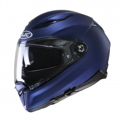 KASK HJC F70 SEMI FLAT METALLIC BLUE XL