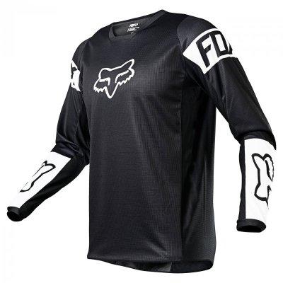 BLUZA FOX 180 REVN BLACK/WHITE XL