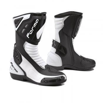 Forma Freccia  buty motocyklowe czarno-białe