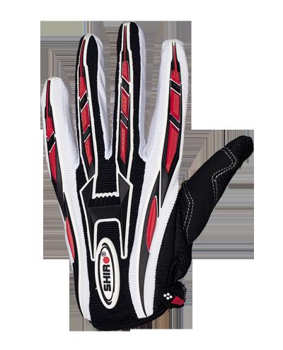 Shiro MX-01 rękawice motocyklowe black czarne Enduro Cross