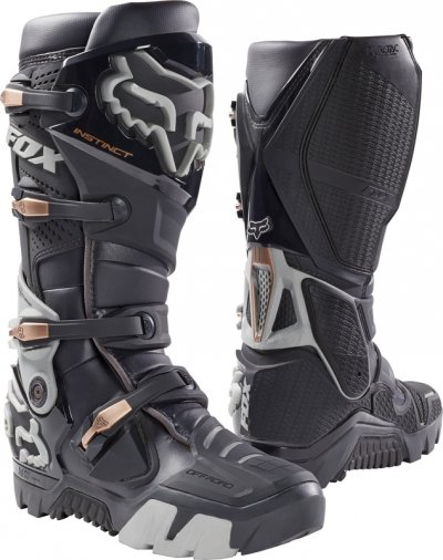 BUTY FOX INSTINCT OFF ROAD CHARCOAL + GRATIS