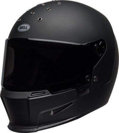 BELL ELIMINATOR BLACK MAT KASK MOTOCYKLOWY